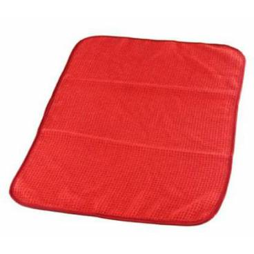 Window Red Towel