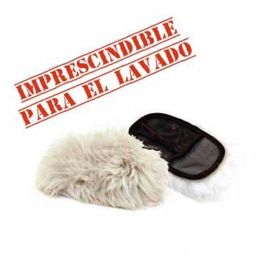 Pure Wool Hand Mitt - Guante de Lana Natural